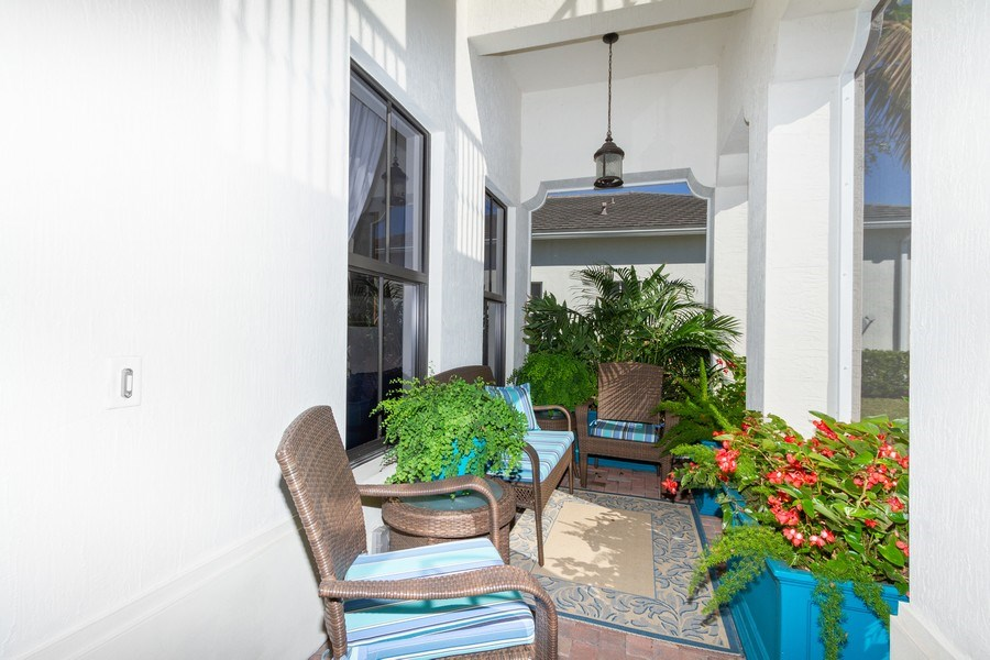 Real Estate Photography - 5055 Milano Street, Ave Maria, FL, 34142 - Porch