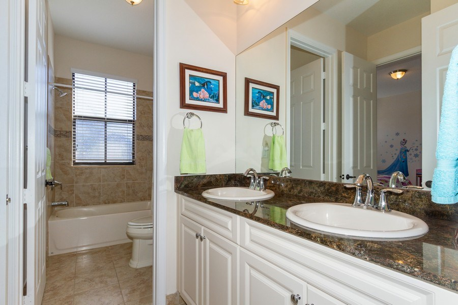 Real Estate Photography - 5055 Milano Street, Ave Maria, FL, 34142 - 2nd Bathroom