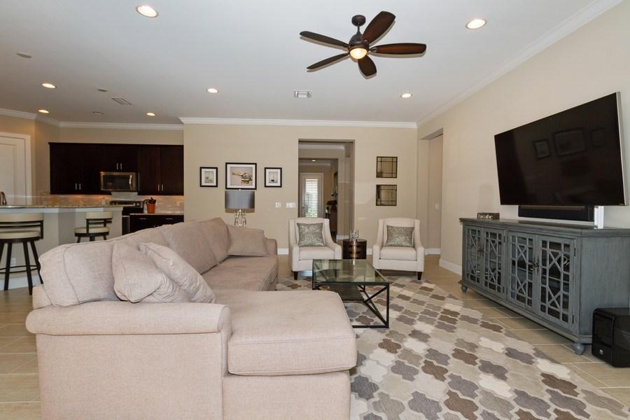 Real Estate Photography - 4456 Tamarind way, Naples, FL, 34119 - Living Room