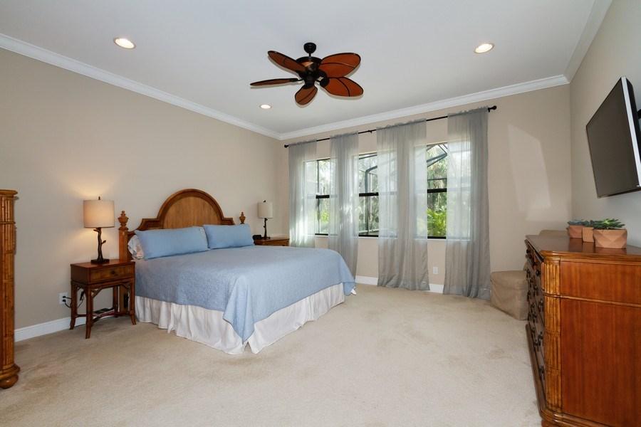 Real Estate Photography - 4456 Tamarind way, Naples, FL, 34119 - Master Bedroom