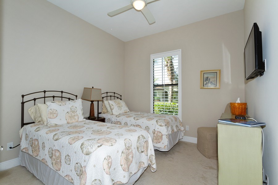 Real Estate Photography - 4456 Tamarind way, Naples, FL, 34119 - Bedroom