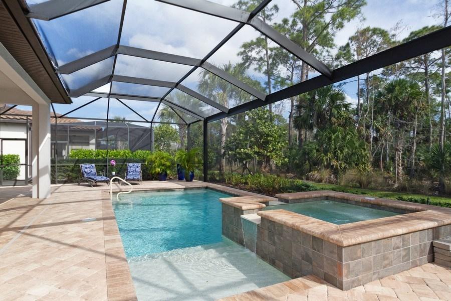 Real Estate Photography - 4456 Tamarind way, Naples, FL, 34119 - Pool