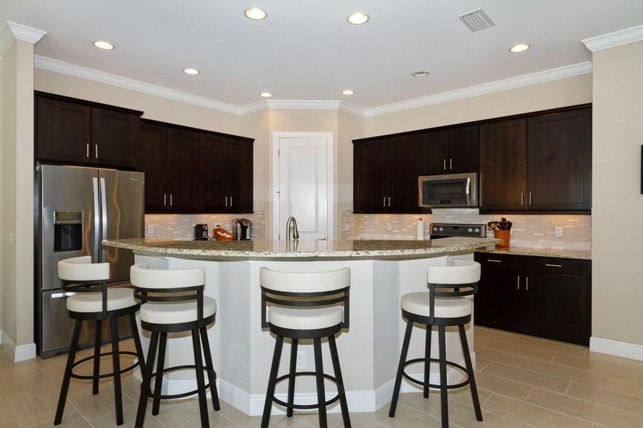 Real Estate Photography - 4456 Tamarind way, Naples, FL, 34119 - Kitchen