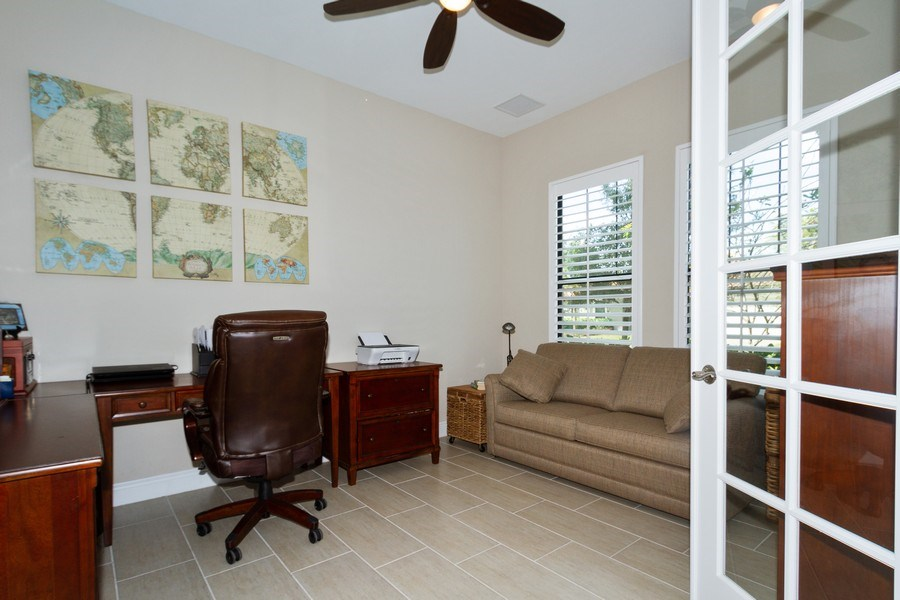 Real Estate Photography - 4456 Tamarind way, Naples, FL, 34119 - Den