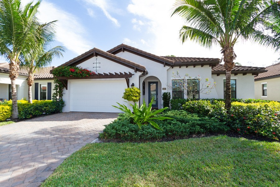 Real Estate Photography - 4456 Tamarind way, Naples, FL, 34119 - Front View