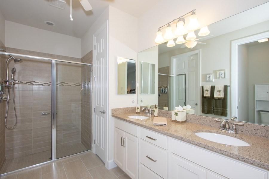 Real Estate Photography - 10670 Jackson Square Drive, Estero, FL, 33928 - Master Bathroom