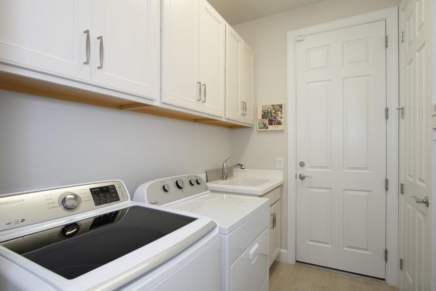 Real Estate Photography - 10670 Jackson Square Drive, Estero, FL, 33928 - Laundry Room