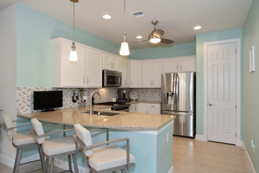 Real Estate Photography - 10670 Jackson Square Drive, Estero, FL, 33928 - Kitchen