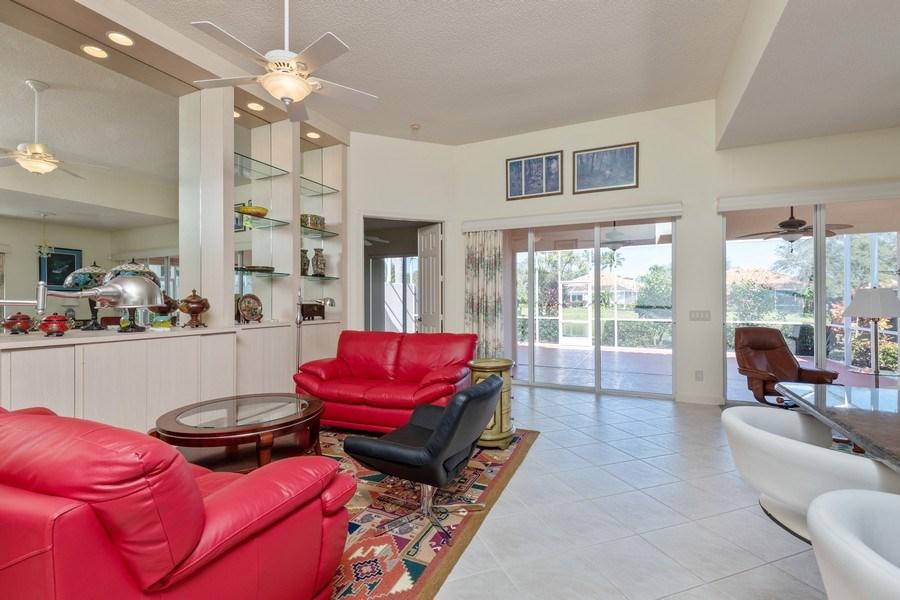 Real Estate Photography - 3411 Donoso Court, Naples, FL, 34109 - Living Room
