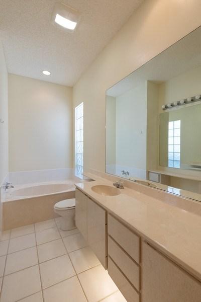 Real Estate Photography - 3411 Donoso Court, Naples, FL, 34109 - Master Bathroom