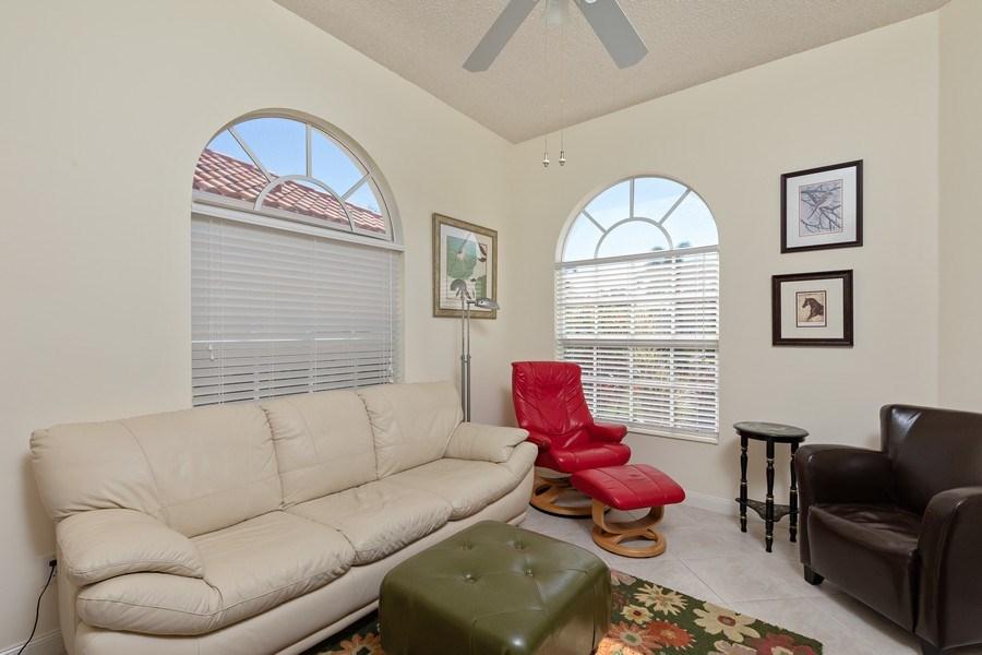 Real Estate Photography - 3411 Donoso Court, Naples, FL, 34109 - Den
