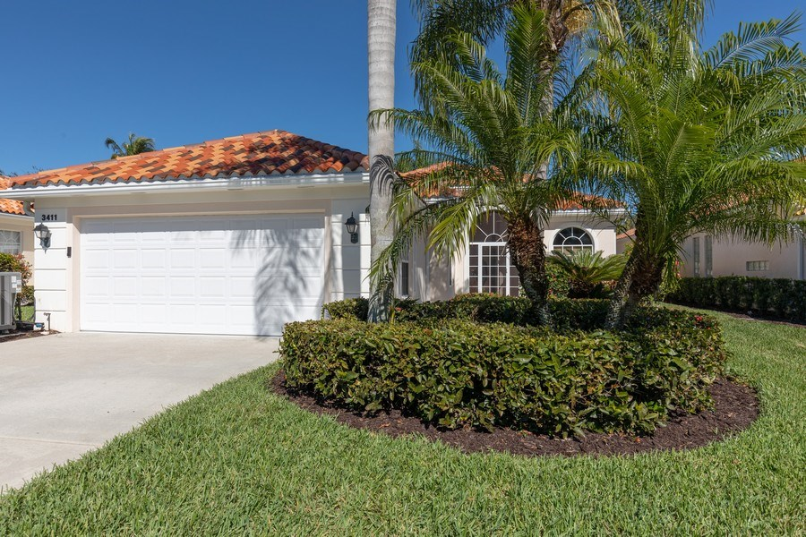 Real Estate Photography - 3411 Donoso Court, Naples, FL, 34109 - Front View