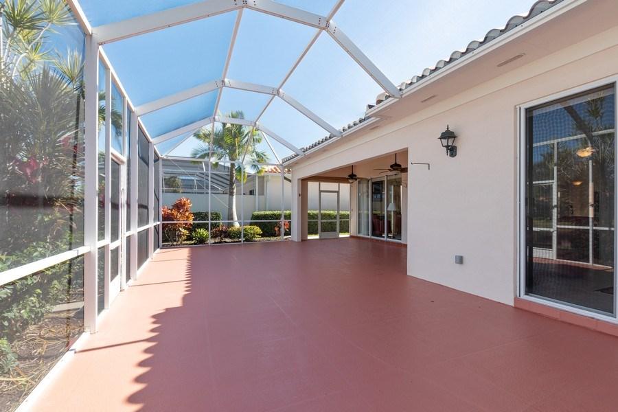 Real Estate Photography - 3411 Donoso Court, Naples, FL, 34109 - Lanai
