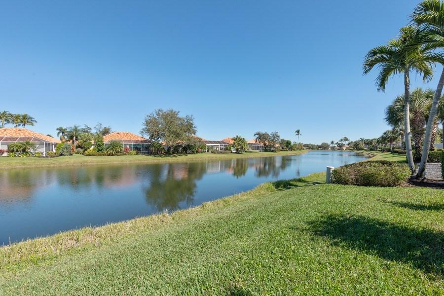 Real Estate Photography - 3411 Donoso Court, Naples, FL, 34109 - Lake View
