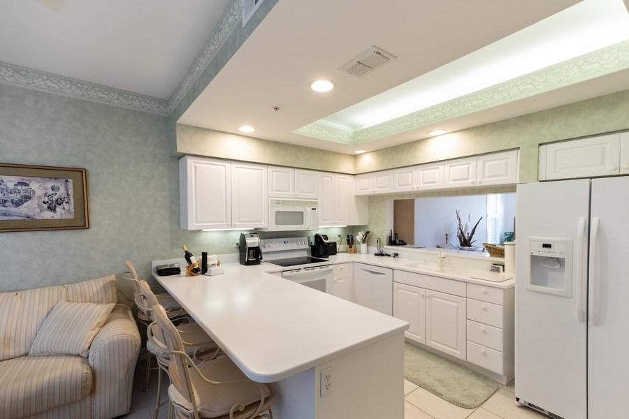 Real Estate Photography - 300 Wyndemere Way302, Naples, FL, 34105 - Kitchen