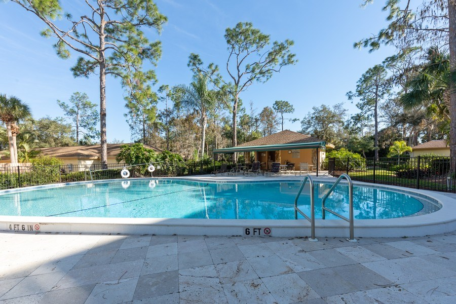 Real Estate Photography - 300 Wyndemere Way302, Naples, FL, 34105 - Pool