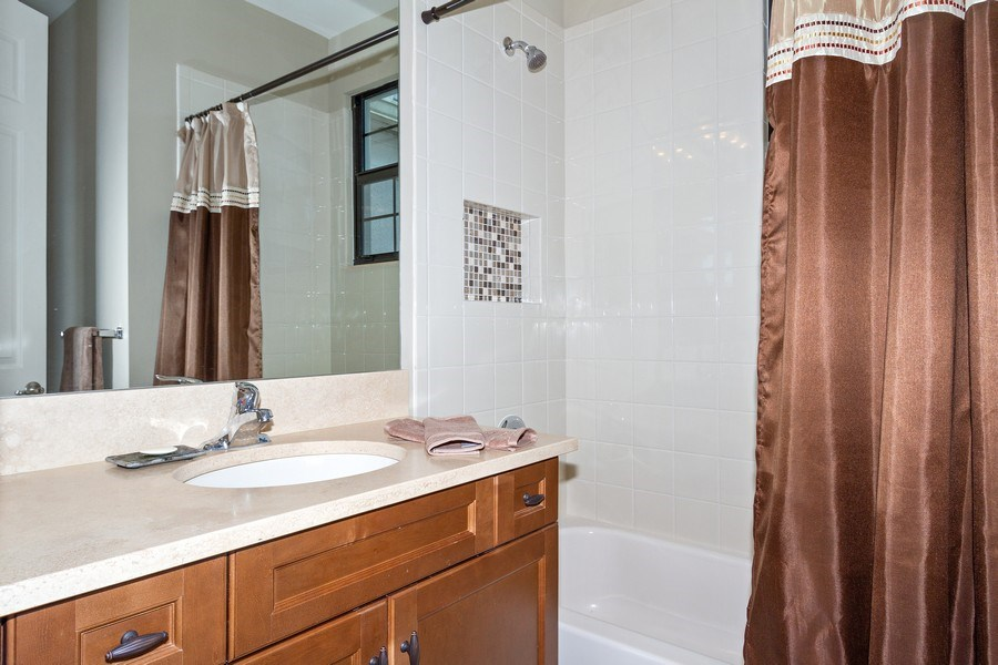 Real Estate Photography - 4206 Amelia Way, Stonecreek, Naples, FL, 34119 - 3rd Bathroom