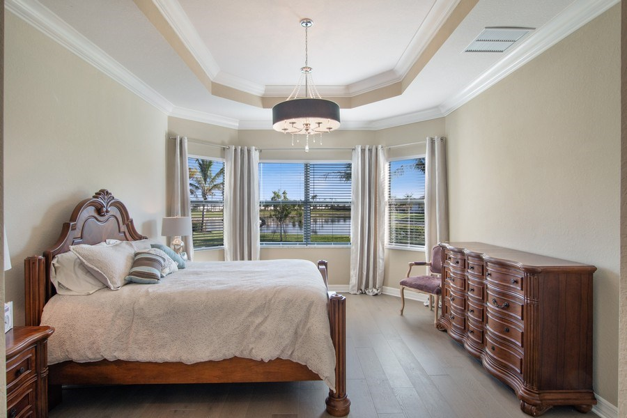 Real Estate Photography - 4206 Amelia Way, Stonecreek, Naples, FL, 34119 - Master Bedroom