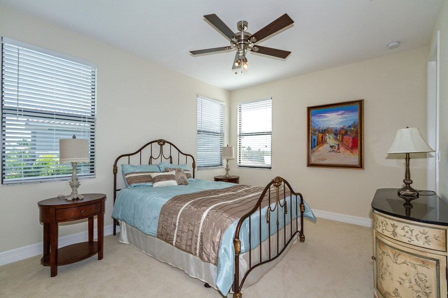 Real Estate Photography - 4206 Amelia Way, Stonecreek, Naples, FL, 34119 - Bedroom