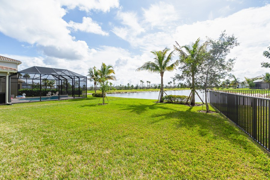 Real Estate Photography - 4206 Amelia Way, Stonecreek, Naples, FL, 34119 - Back Yard