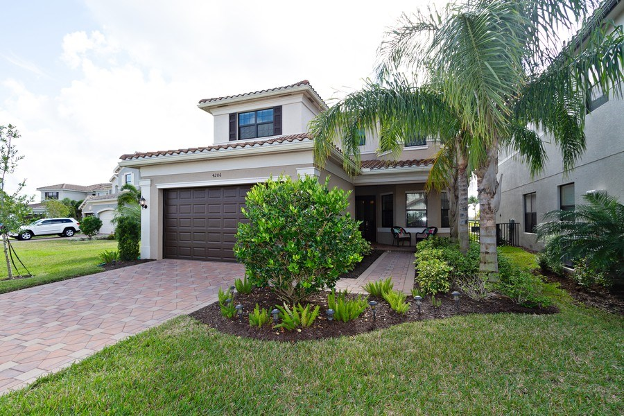 Real Estate Photography - 4206 Amelia Way, Stonecreek, Naples, FL, 34119 - Front View
