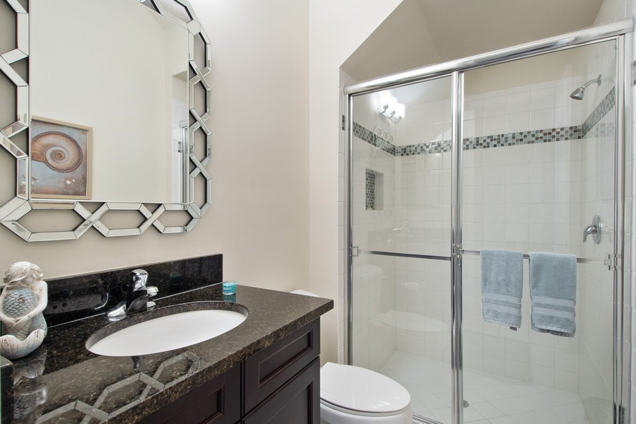 Real Estate Photography - 4206 Amelia Way, Stonecreek, Naples, FL, 34119 - Bathroom