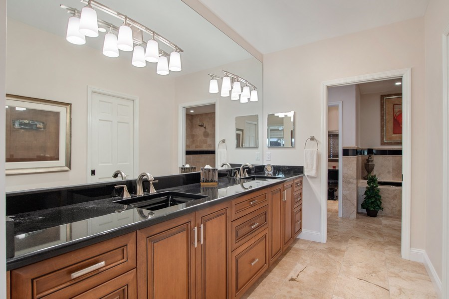 Real Estate Photography - 2016 Imperial Golf Course Blvd, Naples, FL, 34110 - Master Bathroom