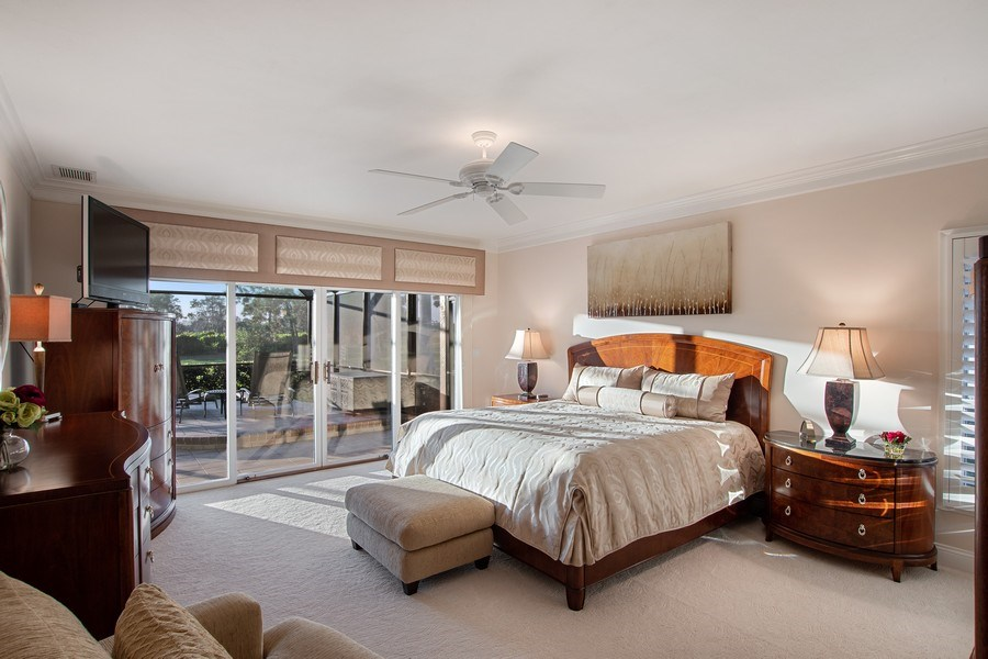 Real Estate Photography - 2016 Imperial Golf Course Blvd, Naples, FL, 34110 - Master Bedroom
