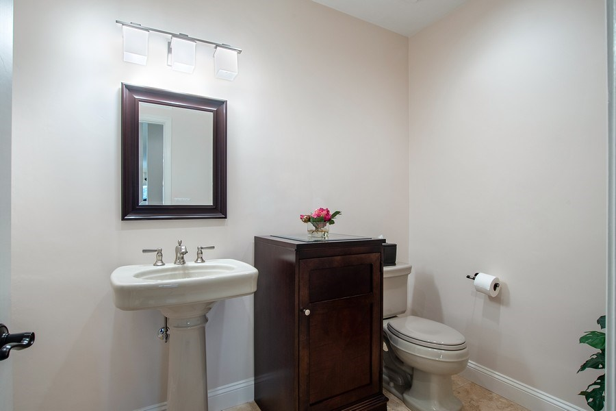 Real Estate Photography - 2016 Imperial Golf Course Blvd, Naples, FL, 34110 - Powder Room