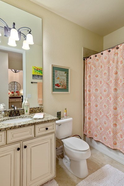 Real Estate Photography - 28537 Westmeath Ct., Bonita Springs, FL, 34135 - 3rd Bathroom