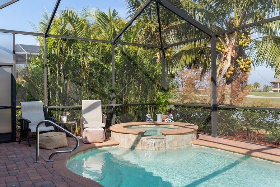 Real Estate Photography - 28537 Westmeath Ct., Bonita Springs, FL, 34135 - Spa