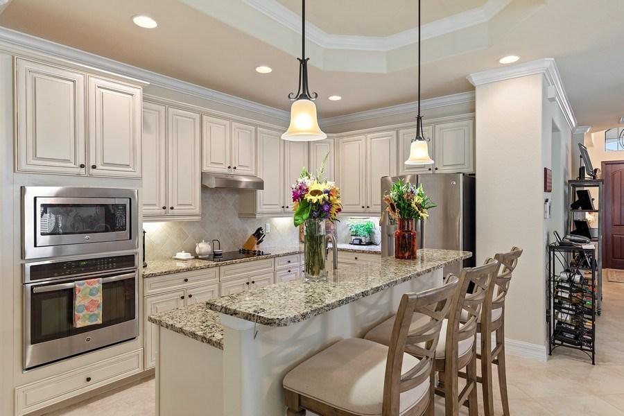 Real Estate Photography - 28537 Westmeath Ct., Bonita Springs, FL, 34135 - Kitchen