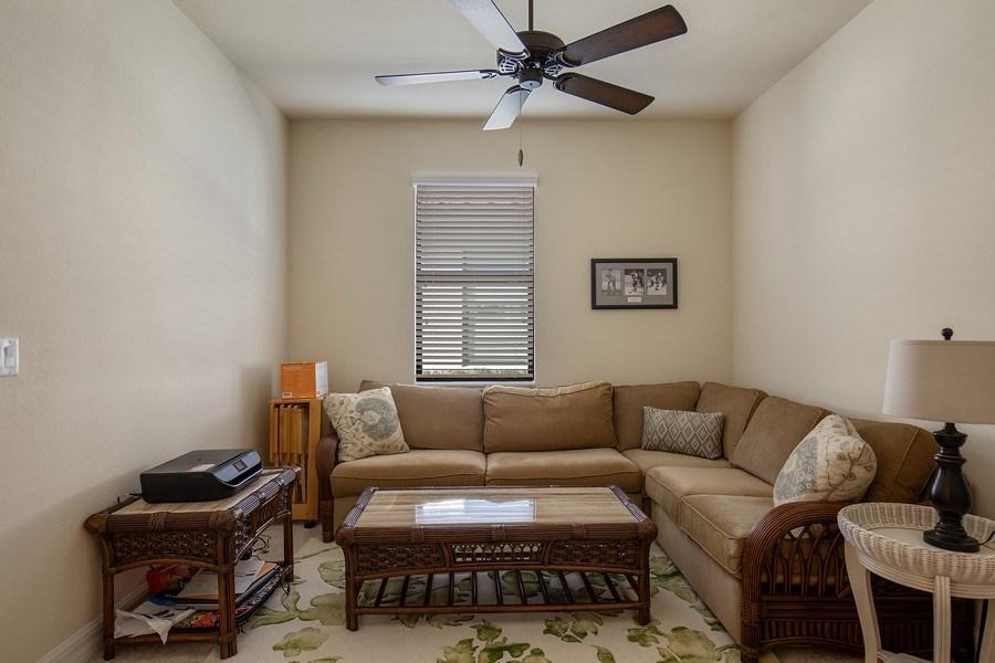 Real Estate Photography - 28537 Westmeath Ct., Bonita Springs, FL, 34135 - Den