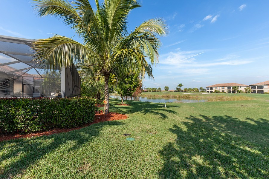 Real Estate Photography - 28537 Westmeath Ct., Bonita Springs, FL, 34135 - Rear View