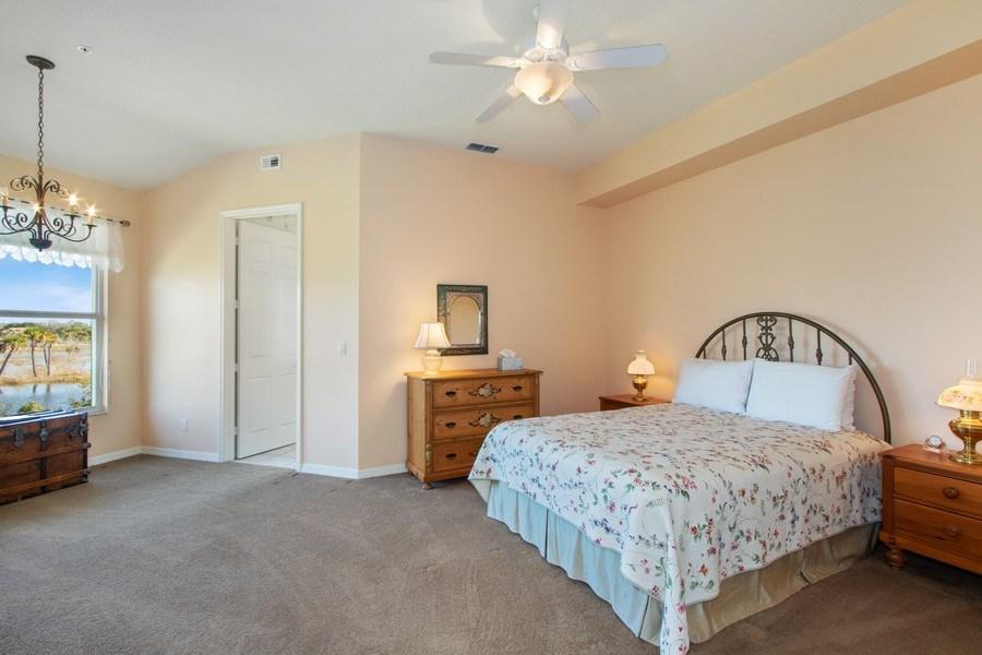Real Estate Photography - 24360 Sandpiper Isle Way, 202, Bonita Springs, FL, 34134 - Master Bedroom