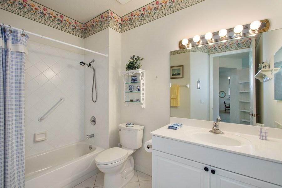 Real Estate Photography - 24360 Sandpiper Isle Way, 202, Bonita Springs, FL, 34134 - 2nd Bathroom