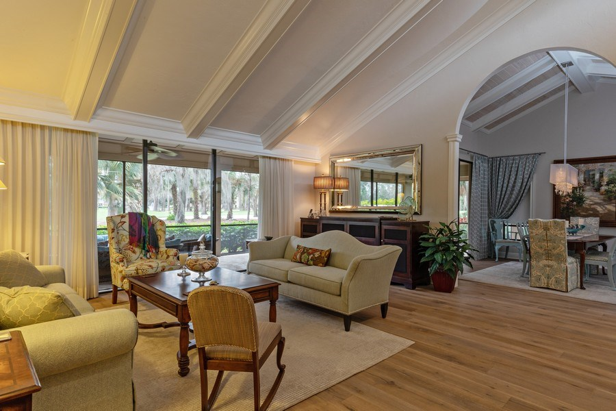 Real Estate Photography - 364 Edgemere Way North, Naples, FL, 34105 - Living Room