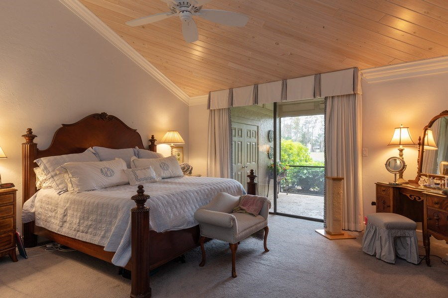 Real Estate Photography - 364 Edgemere Way North, Naples, FL, 34105 - Master Bedroom