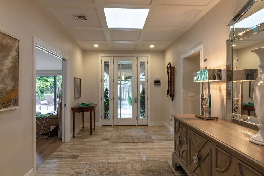 Real Estate Photography - 364 Edgemere Way North, Naples, FL, 34105 - Foyer