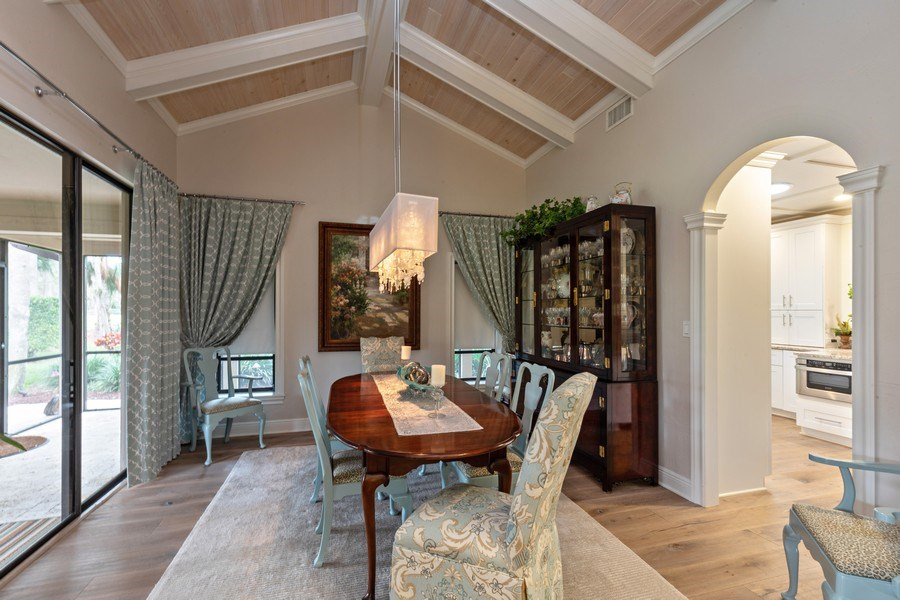 Real Estate Photography - 364 Edgemere Way North, Naples, FL, 34105 - Dining Room