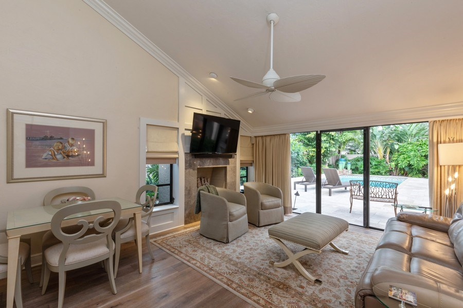 Real Estate Photography - 364 Edgemere Way North, Naples, FL, 34105 - Den