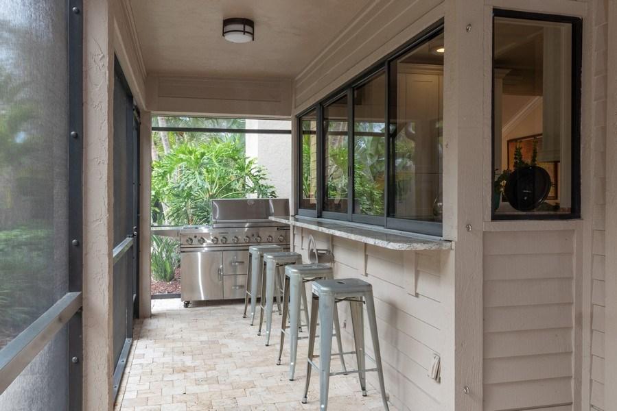 Real Estate Photography - 364 Edgemere Way North, Naples, FL, 34105 - Bar
