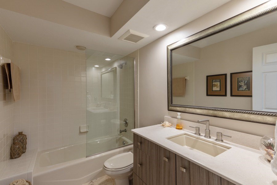 Real Estate Photography - 364 Edgemere Way North, Naples, FL, 34105 - Bathroom