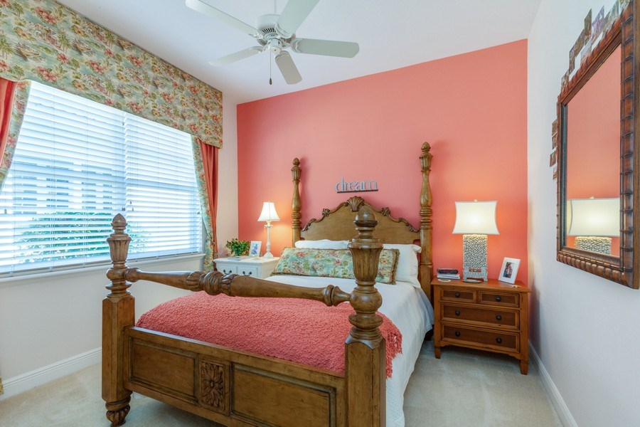 Real Estate Photography - 9288 Troon Lakes Drive, Naples, FL, 34109 - 3rd Bedroom