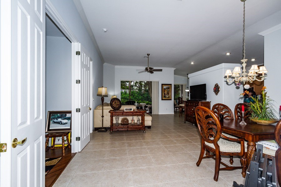 Real Estate Photography - 8848 Ventura Way, Naples, FL, 34109 - Living Room