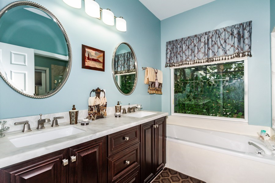Real Estate Photography - 8848 Ventura Way, Naples, FL, 34109 - Master Bathroom