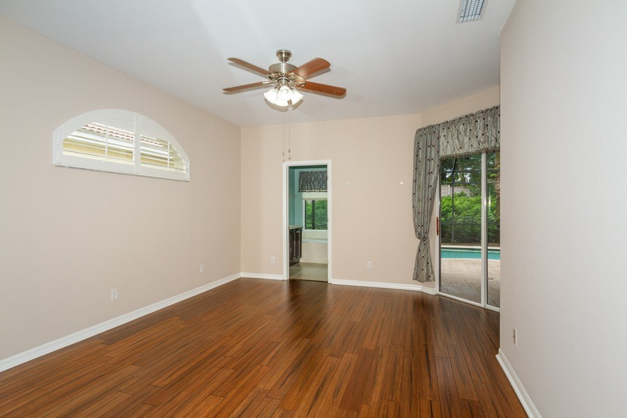 Real Estate Photography - 8848 Ventura Way, Naples, FL, 34109 - Master Bedroom