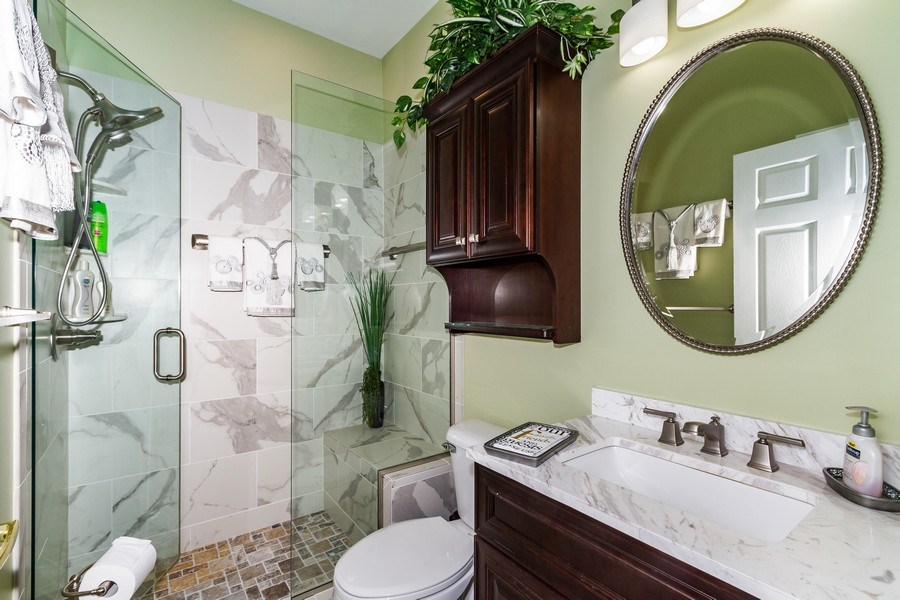 Real Estate Photography - 8848 Ventura Way, Naples, FL, 34109 - Bathroom