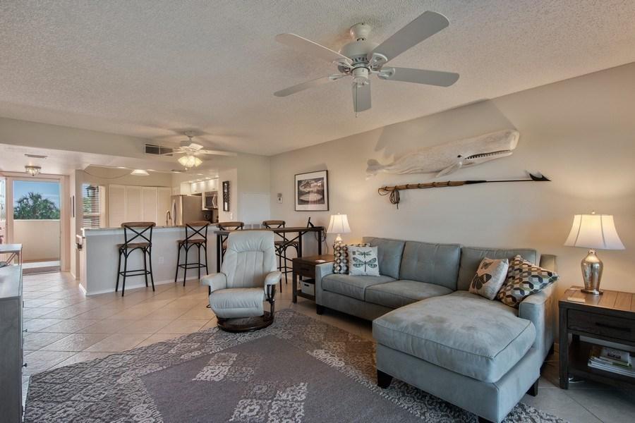 Real Estate Photography - 100 Stevens Landing #206, Marco Island, FL, 34145 - Living Room