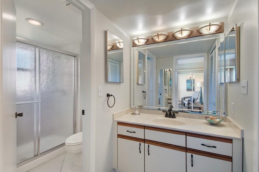 Real Estate Photography - 100 Stevens Landing #206, Marco Island, FL, 34145 - Master Bathroom